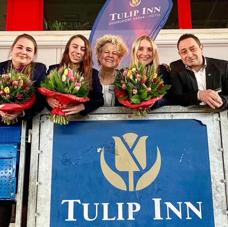 Unsere Auszubildenden feiern ihren Abschluss, tulipinndusarena.com