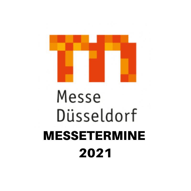 Messe Düsseldorf 2021 - alle Termine auf einen Blick ...