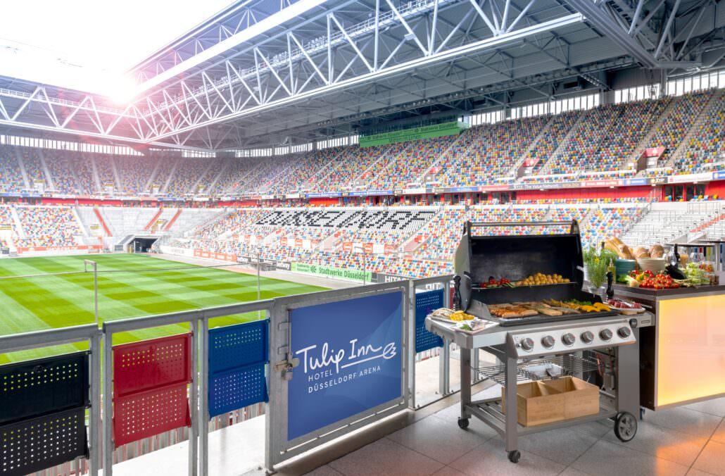 Stadion BBQ Tulip Inn Düsseldorf Arena