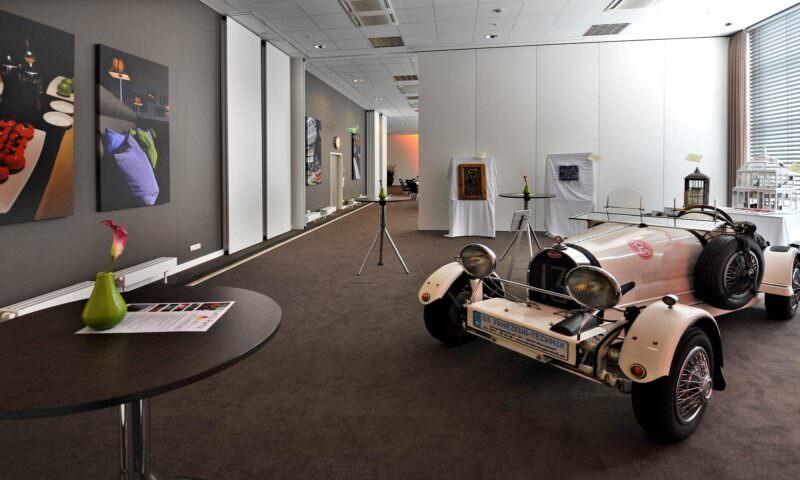 Tulip Inn Düsseldorf Arena Ausstellung