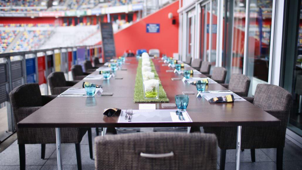 TULIPS Lunch Stadionterrasse