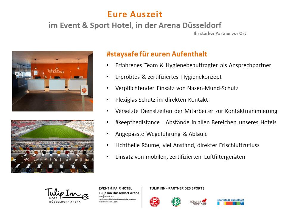 Safety Information Tulip Inn Düsseldorf Arena