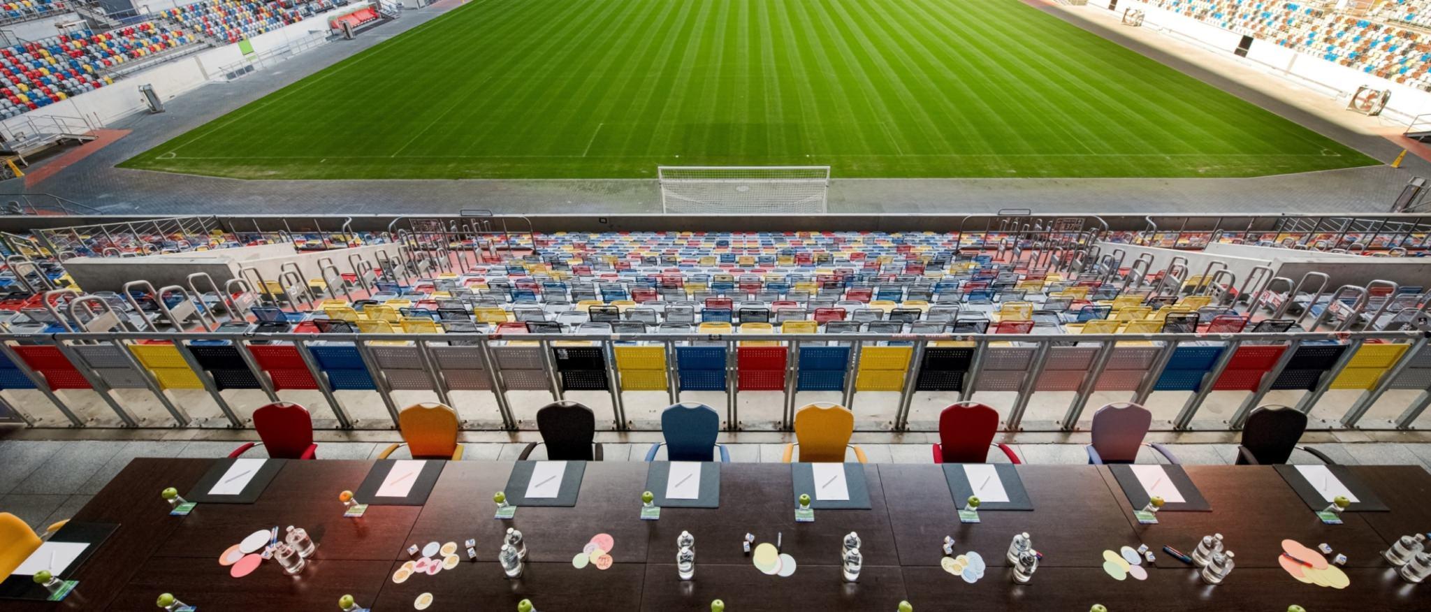 Hotel Tulip Inn Düsseldorf Arena Stadionterrasse