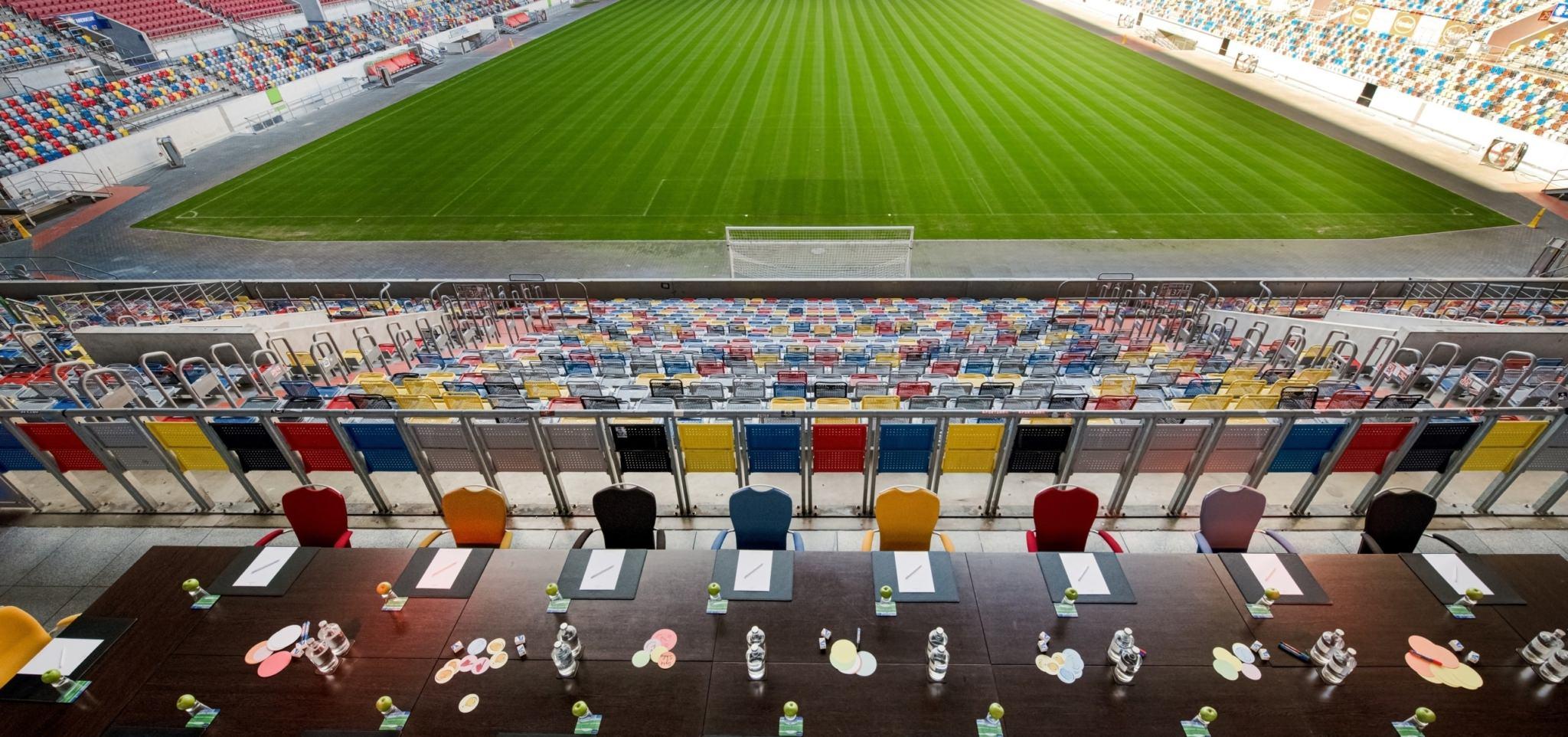 Hotel Tulip Inn Düsseldorf Arena Tagen im Stadion